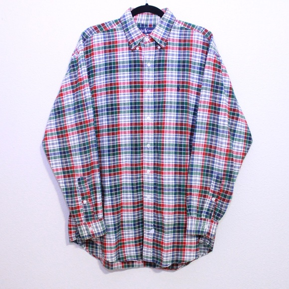 Polo by Ralph Lauren Other - Ralph Lauren Polo Men's Plaid Flannel Button Down